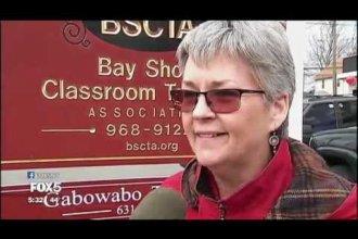 Long Island teachers protest Trump's education nominee WNYW